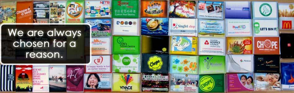 Tissue advertising