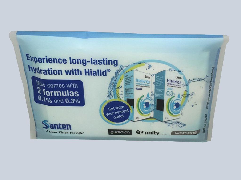 Santen tissue advertising