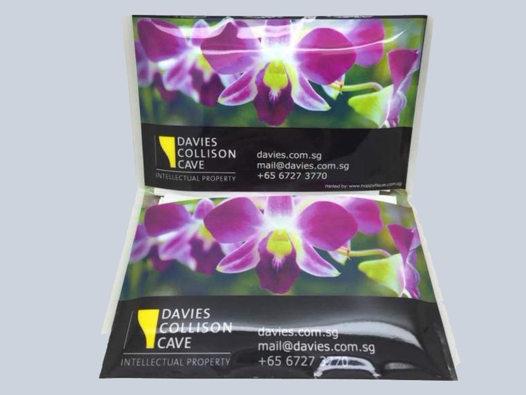 Davies Collision Customised tissue Singapore