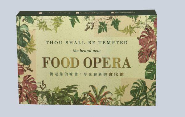 Food Opera (5panel)