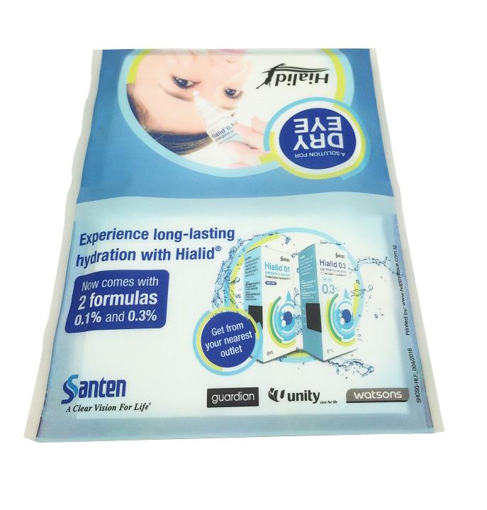Santen Hialid Matt customised tissue pack