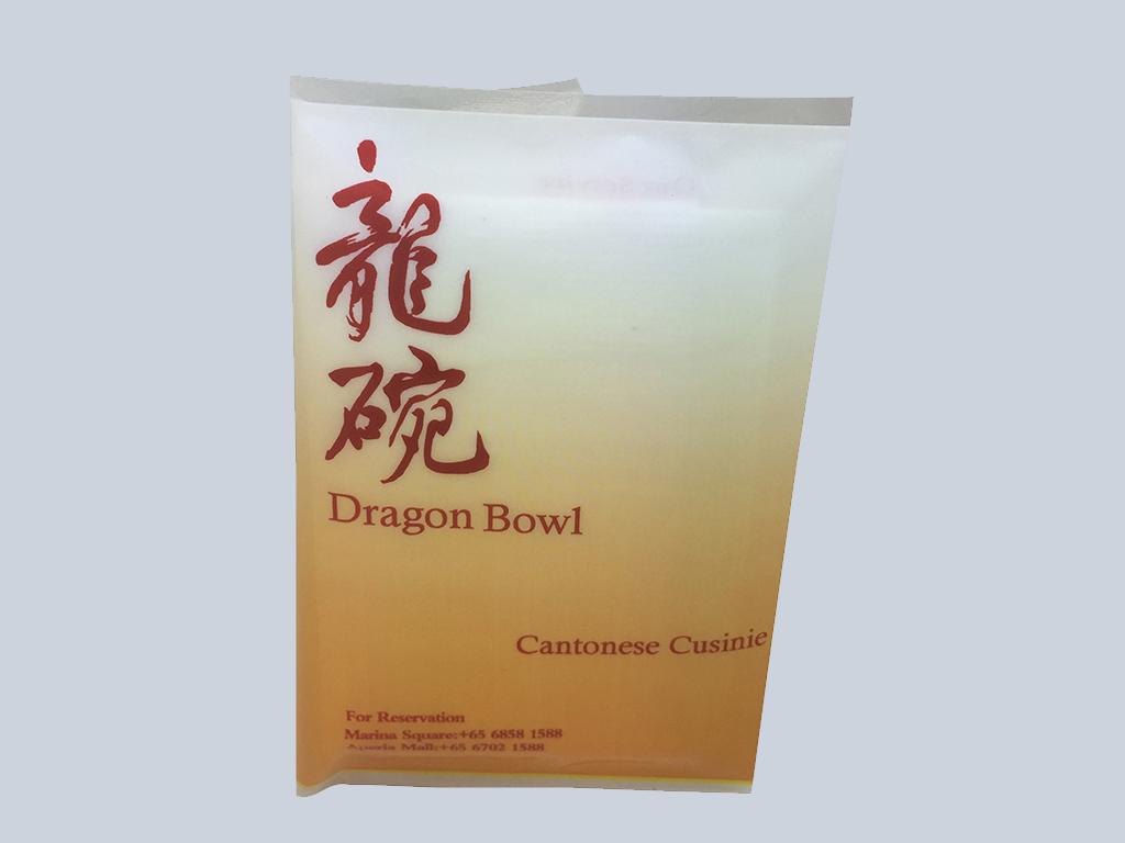 Dragon bowl Tissue advertising Singapore
