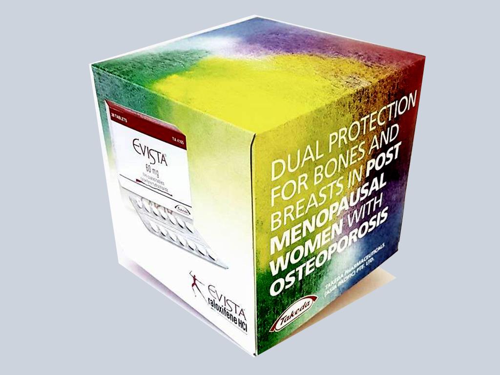 Evista customised tissue pack