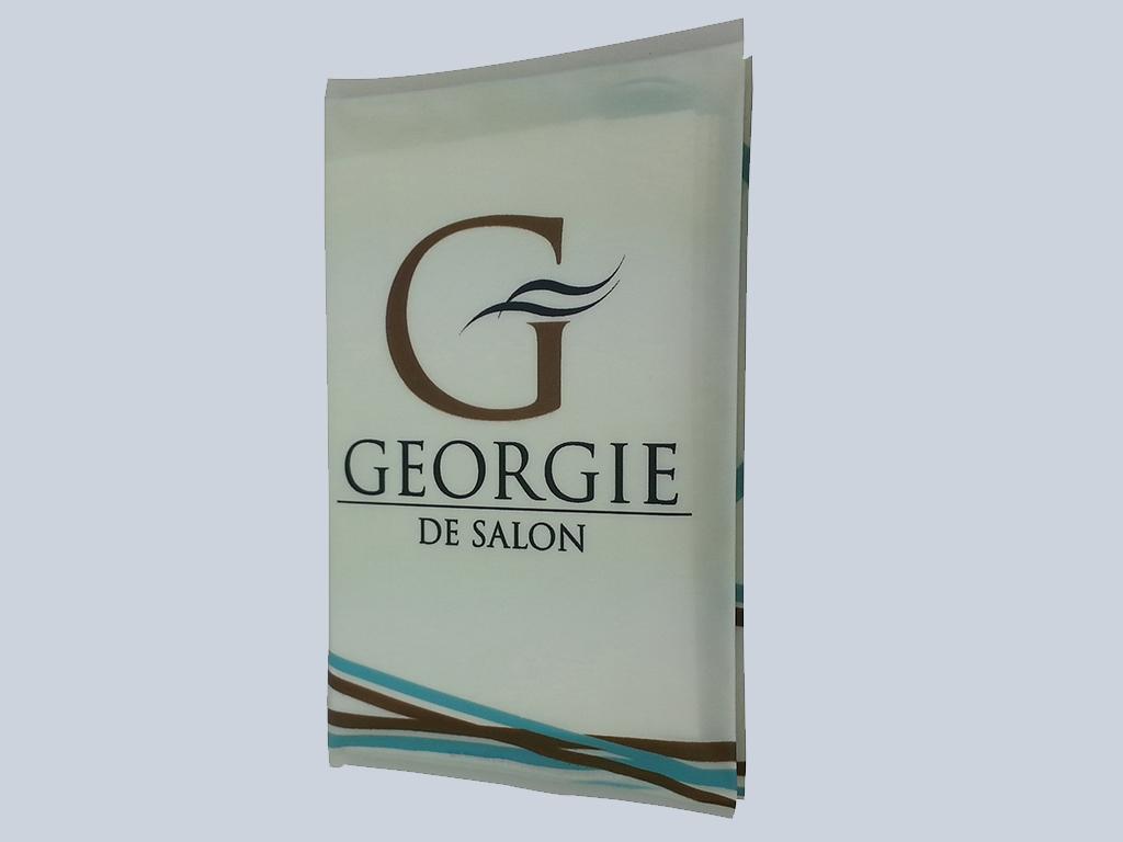 Georgie De Salon Tissue advertising Singapore