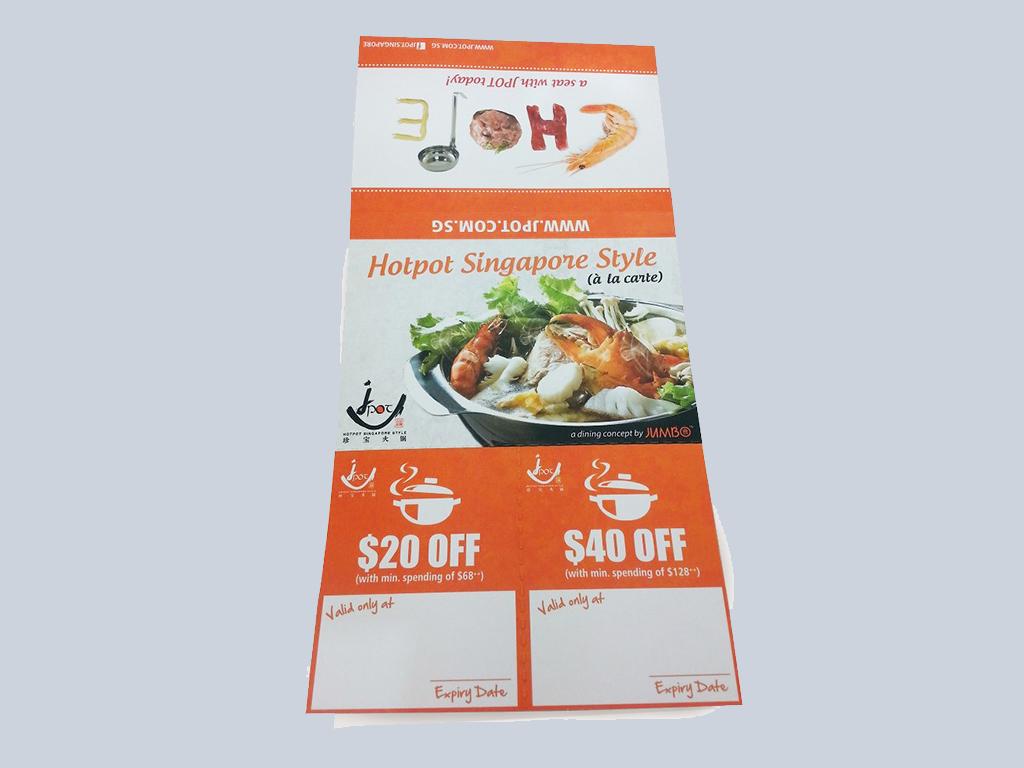 Hotpot Singapore Style tissue pack printing
