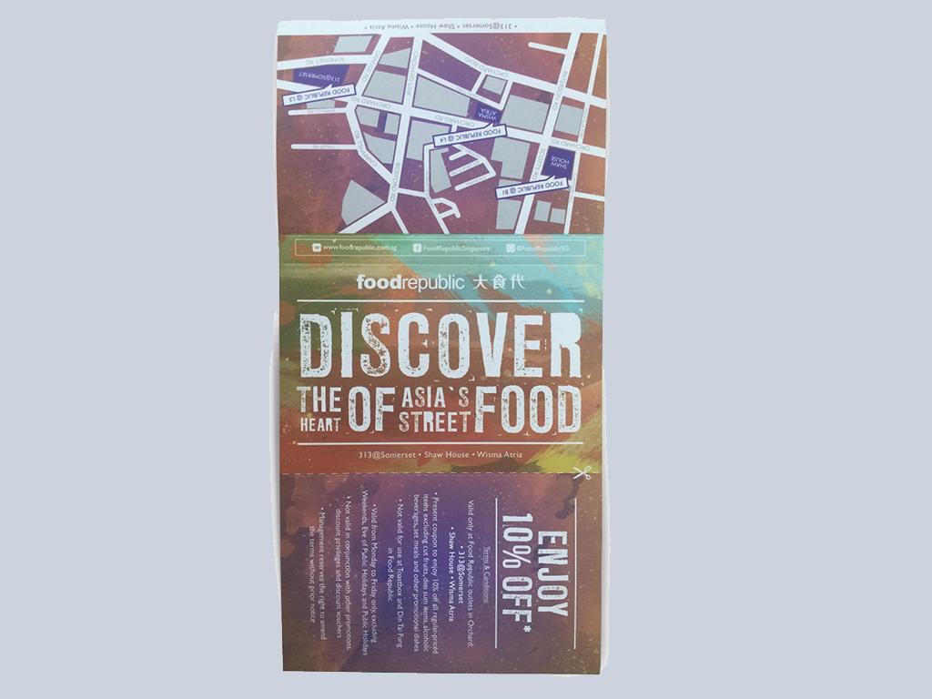 Food Republic printing tissue singapore