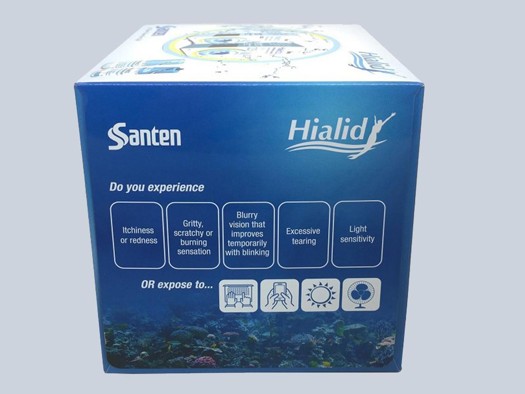santen Advertising tissue