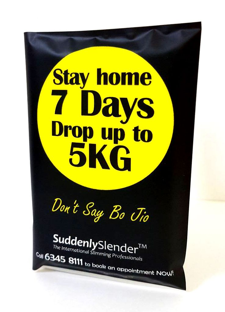 Stay Home 7 Days Drop Up To 5KG