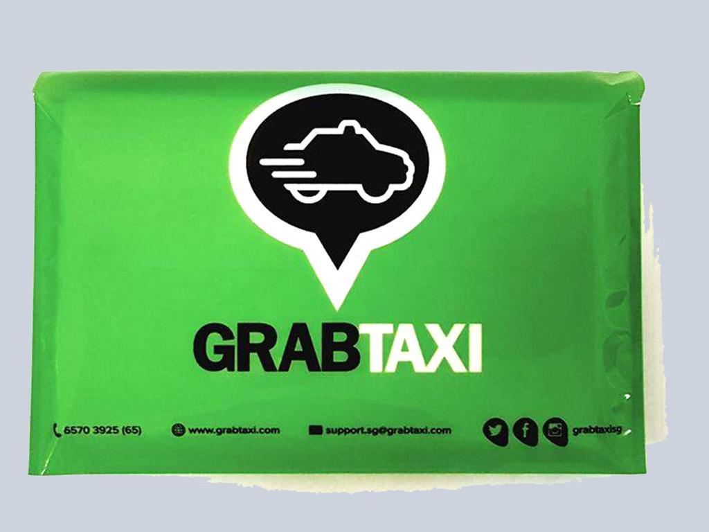 Grab Taxi Tissue advertising singapore