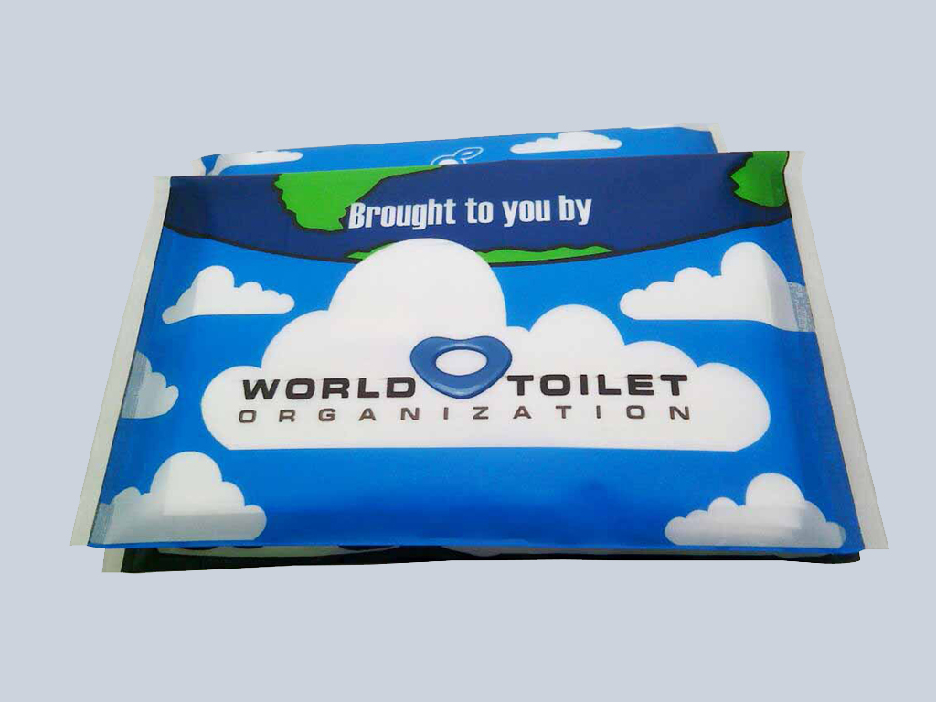 World Toilet Organization tissue marketing