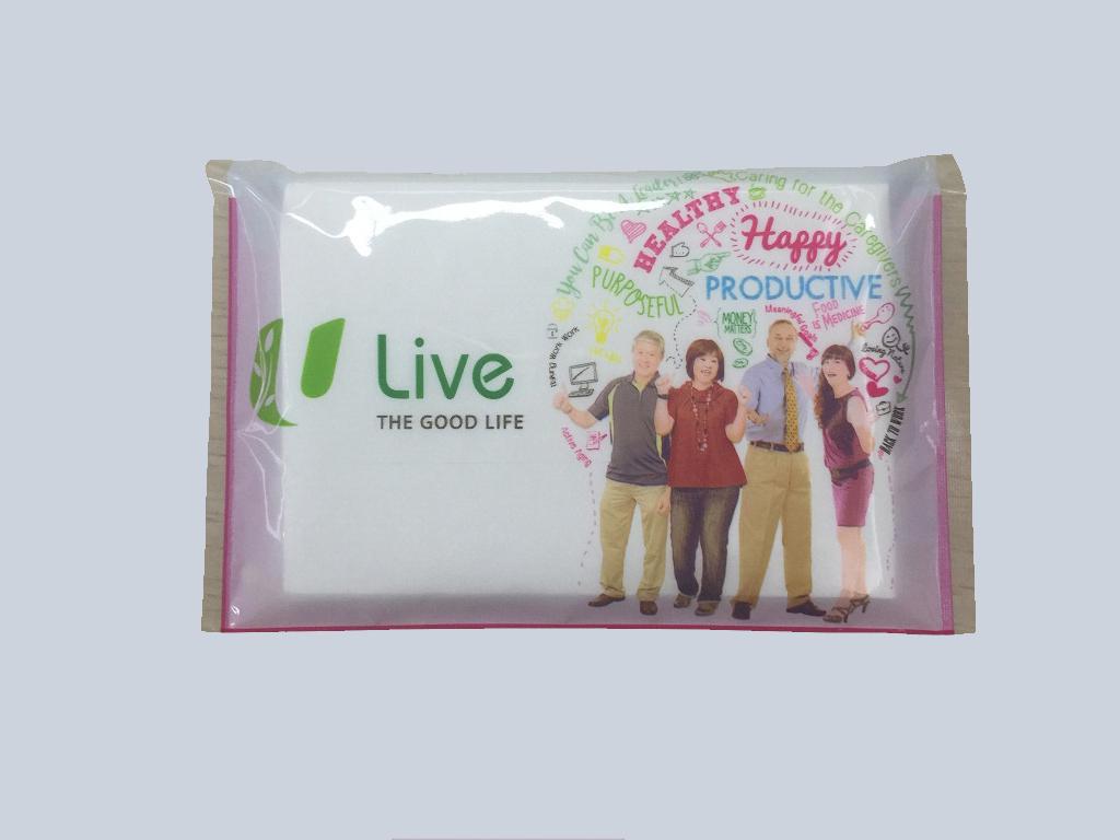 U Live tissue advertising